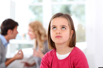Family counseling can be beneficial for children affected by witnessing continuous arguments by family members, developing anxiety and behavioral problems